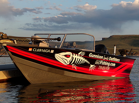 GSO Fishing Guide Cody Rowe's Starcraft Guide Boat
