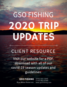 GSO Fishing 2020 Trip Updates & Client Resource
