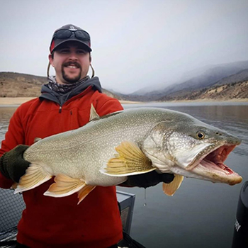 Guide Cody Rowe - Lake Trout