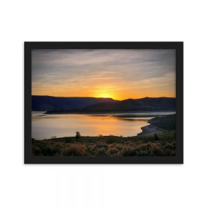 Blue Mesa Sunrise Print