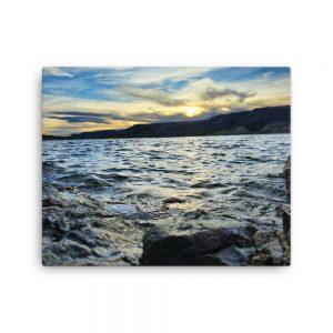 Blue Mesa Reservoir - Cebola Basin At Sunset Print