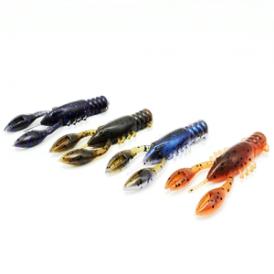 GSO Fishing Premium TRG MudBugs in four different color patterns