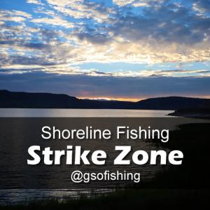 Strike Zone: Sunset at Iola Basin along the shore line of Blue Mesa Reservoir