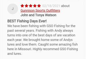 GSO Fishing - 5 Star Guided Fishing Trip Review