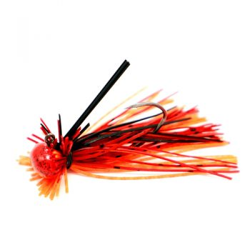 GSO Fishing Premium - HD Finesse Jig - Fire Craw