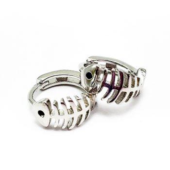 GSO Fishing - Fish Bones Mini Earrings